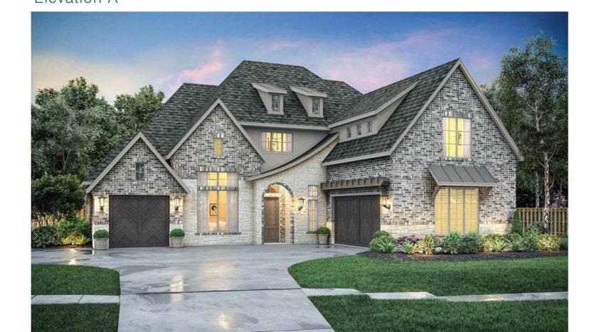 Southgate Homes 5T Ranch subdivision  Argyle TX 76226