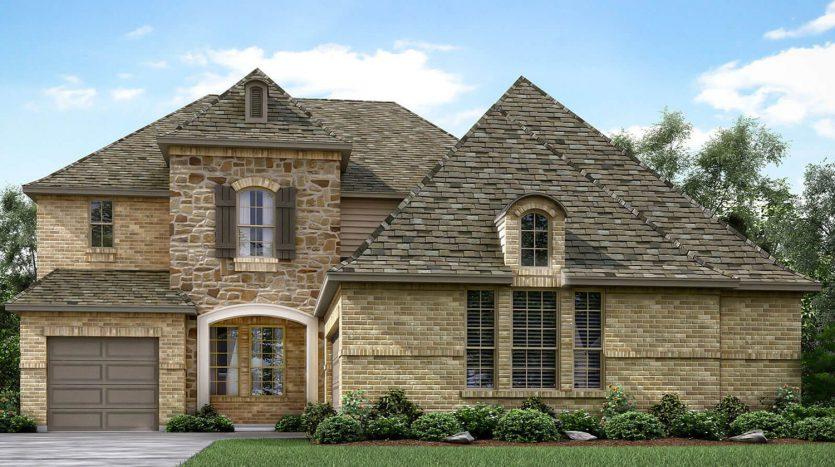 Meritage Homes Edgewood subdivision  Frisco TX 75035