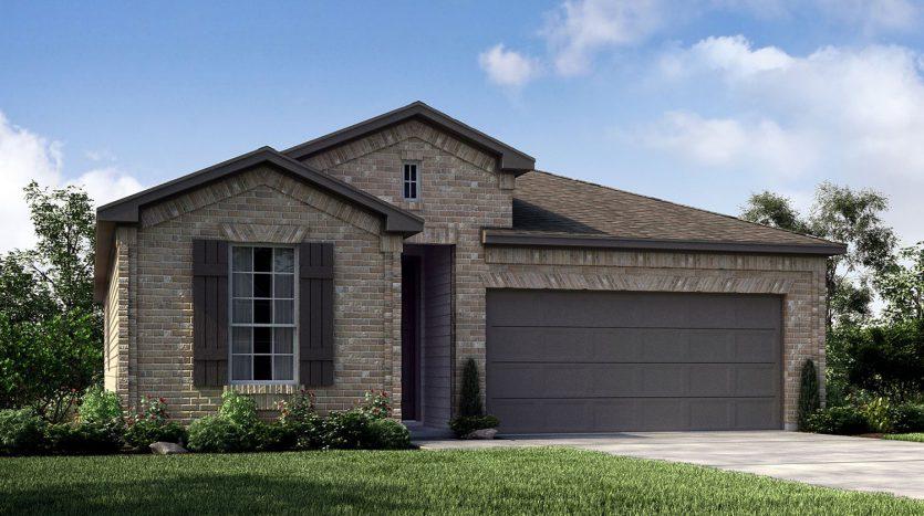 Meritage Homes Latera subdivision  Carrollton TX 75010