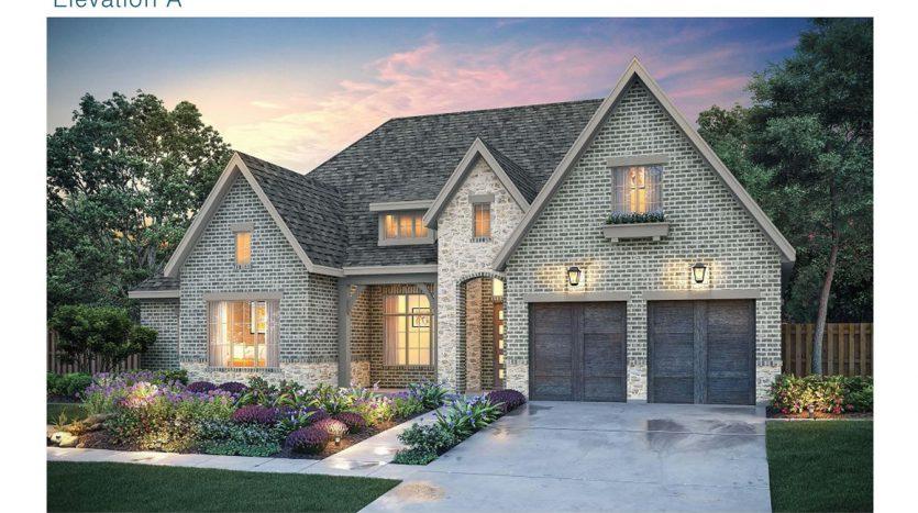 Southgate Homes Edgewood subdivision  Frisco TX 75035