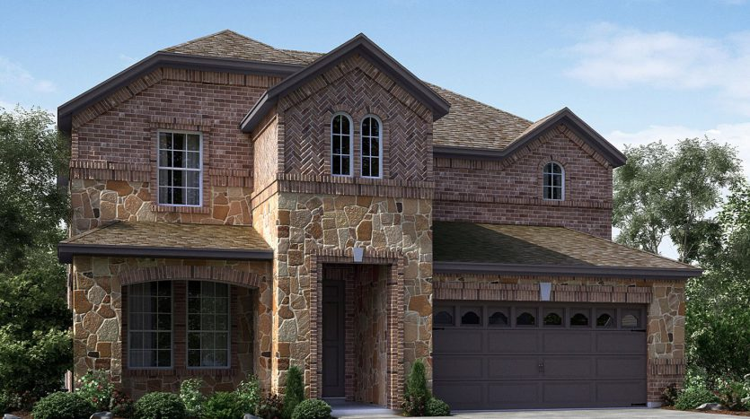 Meritage Homes Bluewood subdivision  Celina TX 75009