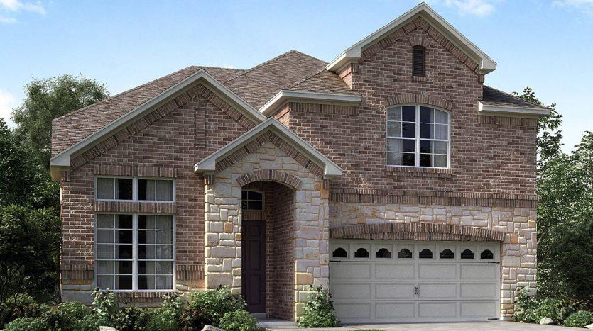 Meritage Homes Bluewood subdivision  Celina TX 75009