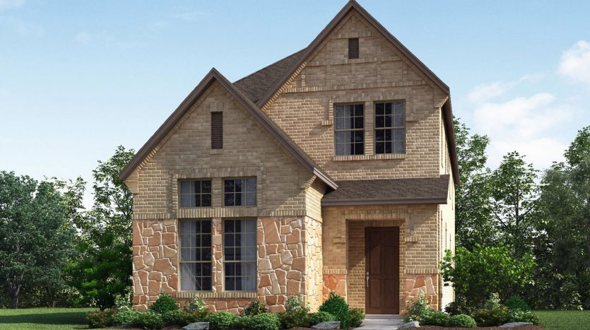 The Manchester Plan - Meritage Homes- 3 bedrooms, 2 5 baths