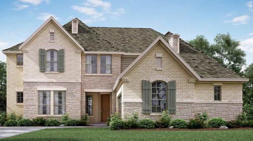 Meritage Homes Stone Creek Estates - Reserve Series subdivision  Rockwall TX 75087