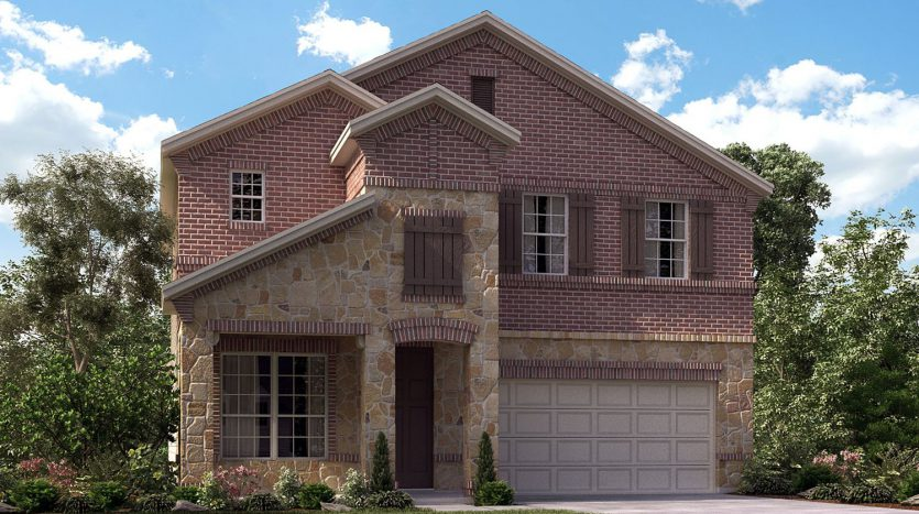 Meritage Homes Latera subdivision  Carrollton TX 75010