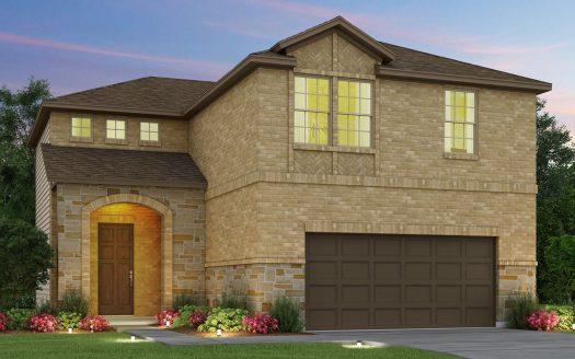 Meritage Homes Villas at Parker subdivision  Carrollton TX 75010