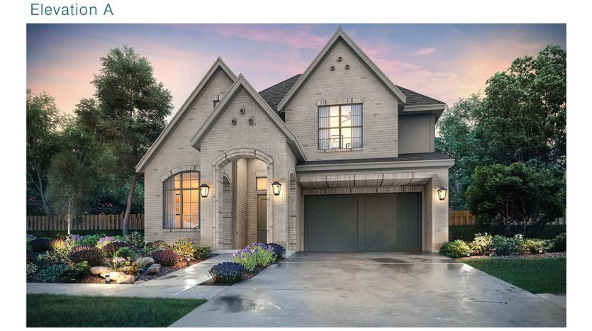 Southgate Homes Edgewood subdivision  Frisco TX 75035