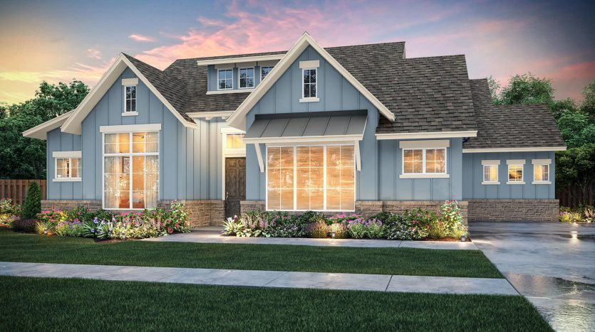 Southgate Homes Lakes of Argyle subdivision  Argyle TX 76226