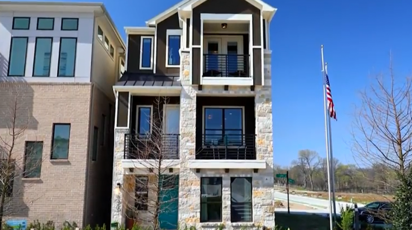 Chesmar Homes Dallas Merion at Midtown Park subdivision  Dallas TX 75231