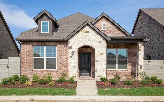 David Weekley Homes Harvest Townside subdivision  Argyle TX 76226