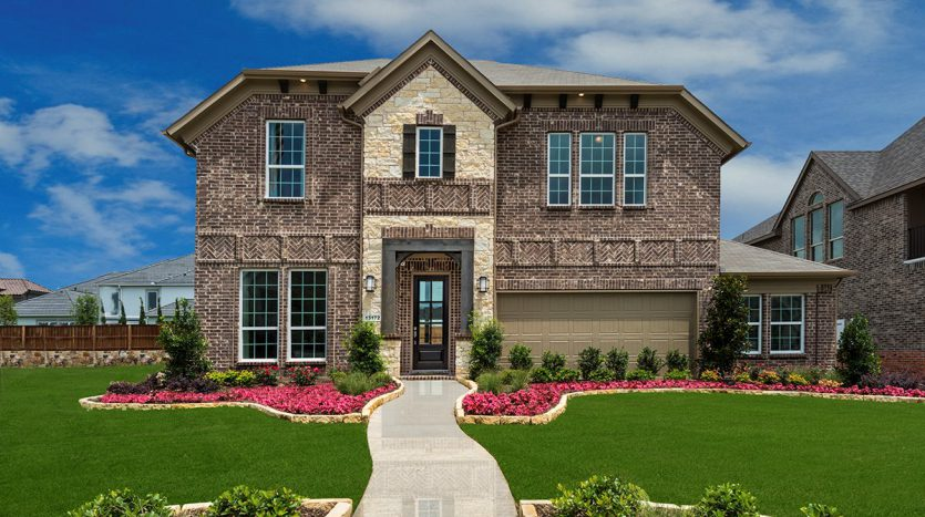 Landon Homes Lexington Country Impression Series subdivision  Frisco TX 75035