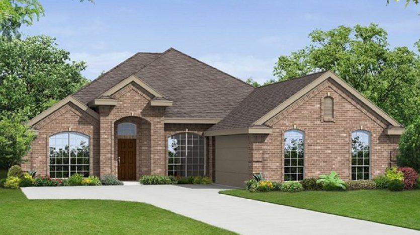 First Texas Homes La Jolla subdivision  Grand Prairie TX 75054