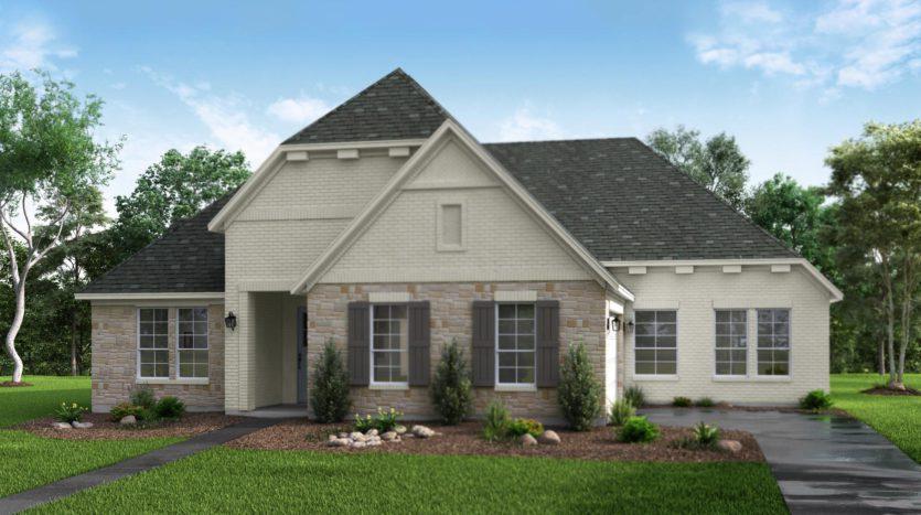 Risland Homes Legacy Gardens subdivision 1418 Beverly Drive Prosper TX 75078