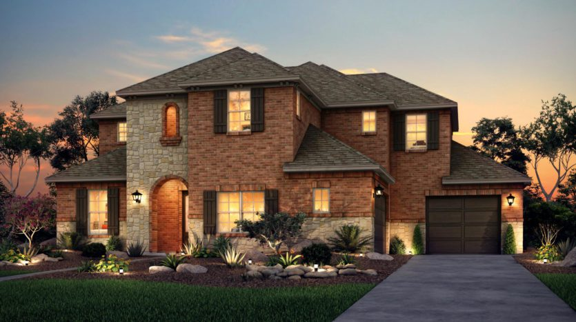 Risland Homes Legacy Gardens subdivision 1414 Beverly Drive Prosper TX 75078