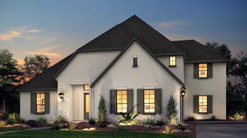 Risland Homes Legacy Gardens subdivision 1411 Beverly Drive Prosper TX 75078