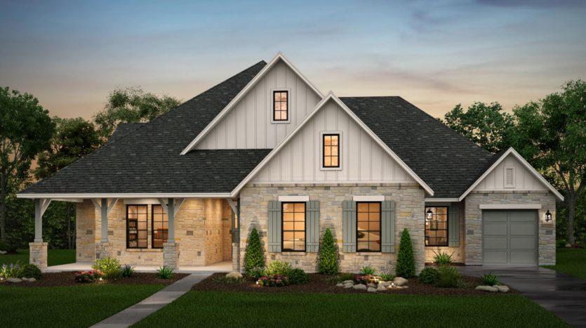 Risland Homes Legacy Gardens subdivision 1412 Beverly Drive Prosper TX 75078