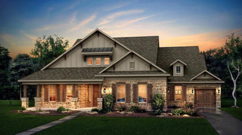 Risland Homes Legacy Gardens subdivision 1416 Beverly Drive Prosper TX 75078