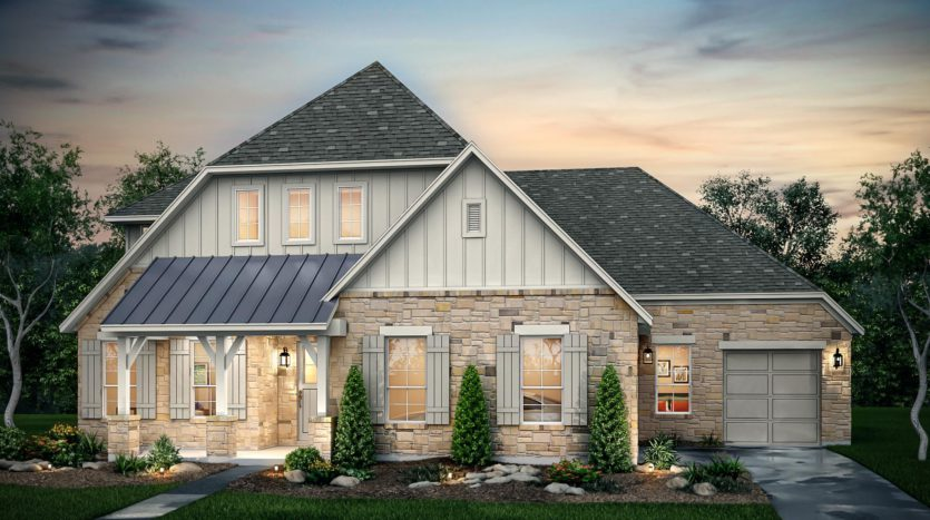 Risland Homes Legacy Gardens subdivision 1415 Beverly Drive Prosper TX 75078