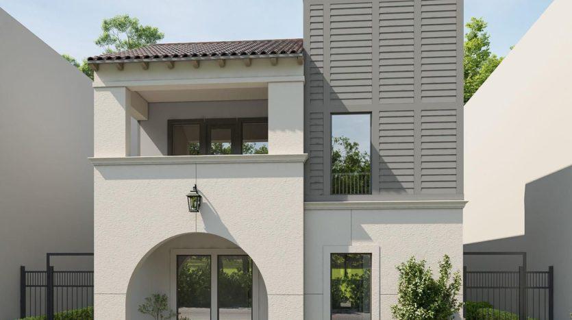 BRITTON HOMES Villas at Legacy West subdivision 6121 Echelon Way Plano TX 75024