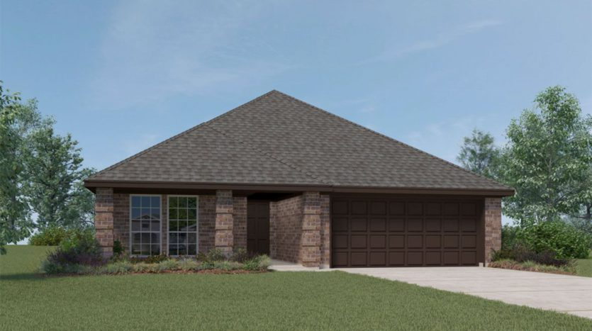 D.R. Horton Union Park subdivision 7437 Wispy Willow Ln Little Elm TX 75068