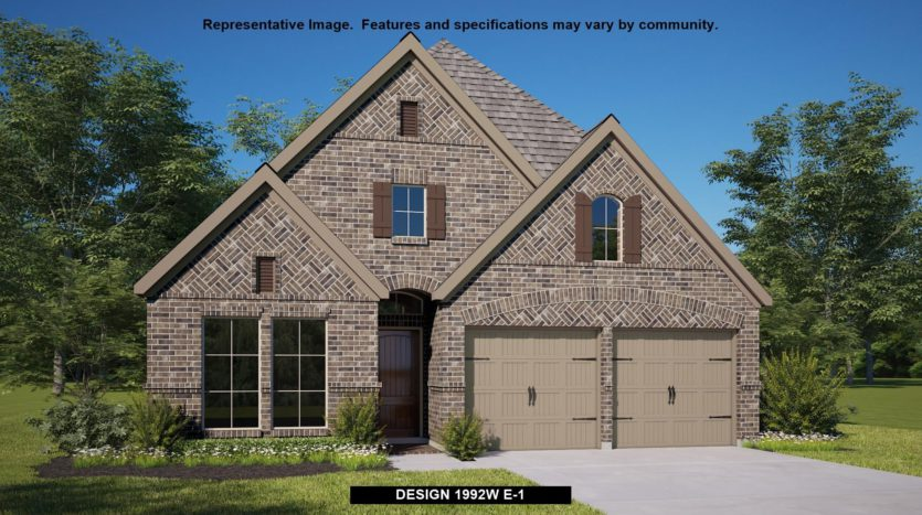 Perry Homes Mustang Lakes 50' subdivision 2616 Maverick Way Celina TX 75009