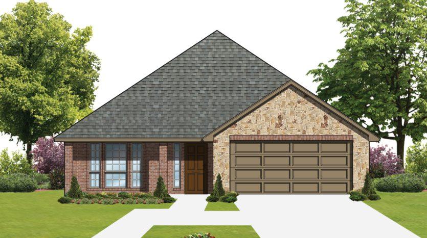 D.R. Horton Union Park subdivision 7408 Crosstimbers Dr Little Elm TX 75068