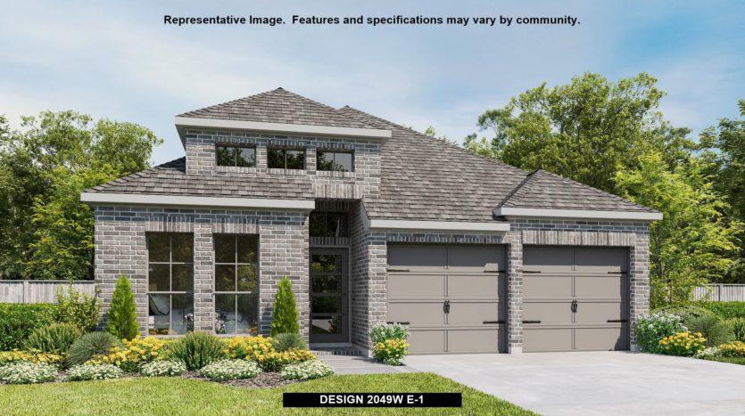 Perry Homes Prairie Oaks 45' subdivision 3505 Holly Hill Lane Little Elm TX 75068