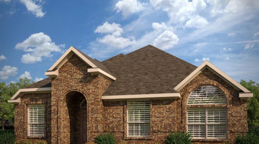 Antares Homes Glen View subdivision 14641 Prairie Fire Drive Frisco TX 75033