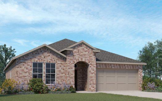 D.R. Horton Union Park subdivision 1517 Grassy Knoll Trl Little Elm TX 75068