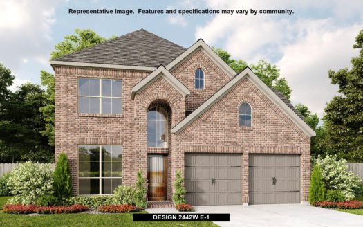 Perry Homes Prairie Oaks 45' subdivision 3505 Holly Hill Lane Little Elm TX 75068