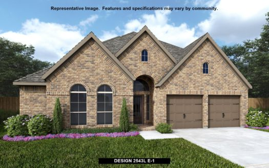 Perry Homes Lakewood at Brookhollow 55' subdivision 2910 Meadow Dell Drive Prosper TX 75078