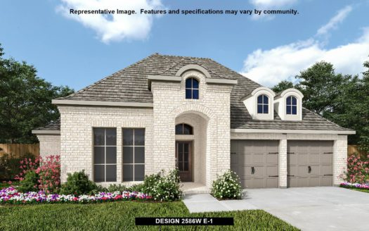 Perry Homes Prairie Oaks 60' subdivision 329 COWLING DRIVE Little Elm TX 75068
