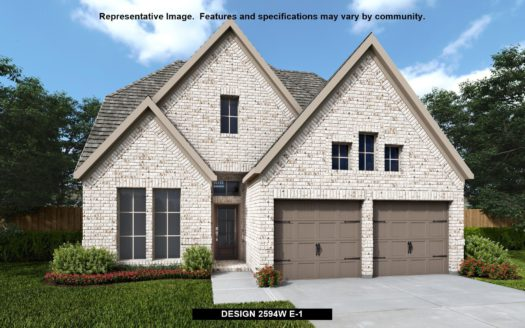 Perry Homes Trinity Falls 45' subdivision 916 QUEENS LAKE TRAIL McKinney TX 75071