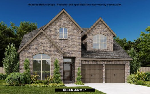 Perry Homes Trinity Falls 50' subdivision 925 QUEENS LAKE TRAIL McKinney TX 75071