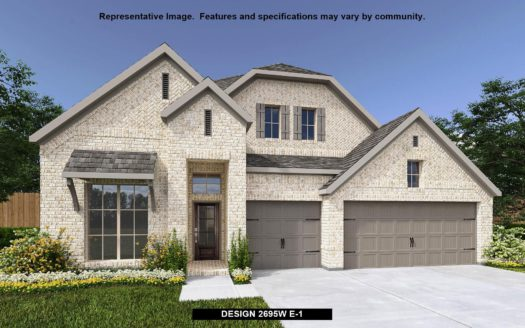Perry Homes Trinity Falls 60' subdivision 420 TURKEY CREEK DRIVE McKinney TX 75071