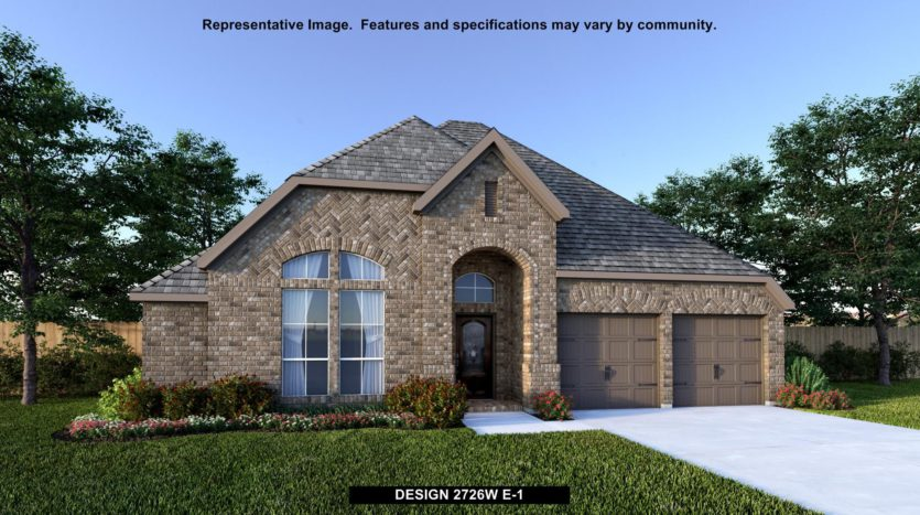 Perry Homes Trinity Falls 60' subdivision 537 AMISTAD COVE McKinney TX 75071