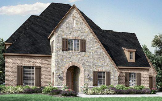 Darling  Homes Montgomery Farm Estates 90s subdivision 808 Brett Drive Allen TX 75013