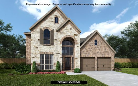 Perry Homes Parks at Legacy 65' subdivision 2770 CLEARWATER DRIVE Prosper TX 75078