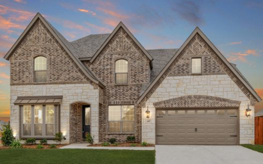 Antares Homes Glen View subdivision 14641 Prairie Fire Drive Frisco TX 75033
