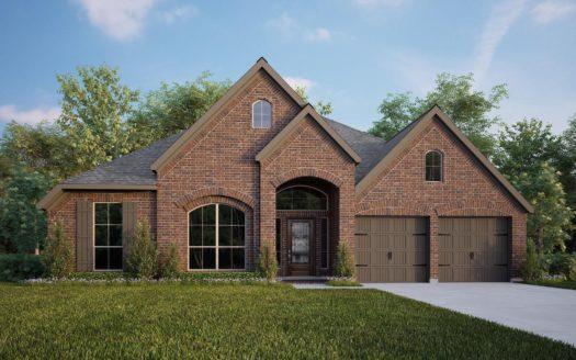 Perry Homes Lilyana 60' subdivision 4428 Sunflower Lane Prosper TX 75078