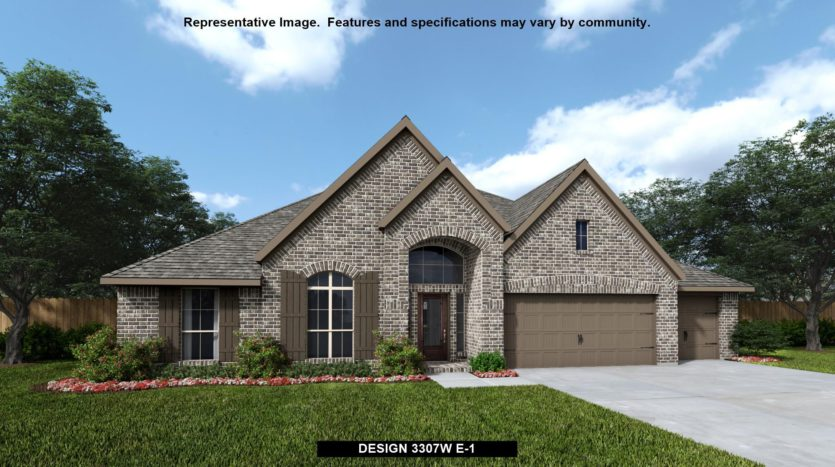 Perry Homes Liberty 70' subdivision 3711 Republic Trail Melissa TX 75454