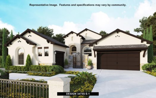 Perry Homes Fairway Ranch 75' subdivision 929 Fairway Ranch Parkway Roanoke TX 76262