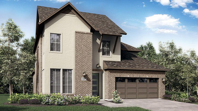 Darling  Homes Montgomery Farm Angel Field East 55s subdivision 1075 Spencer Street Allen TX 75013