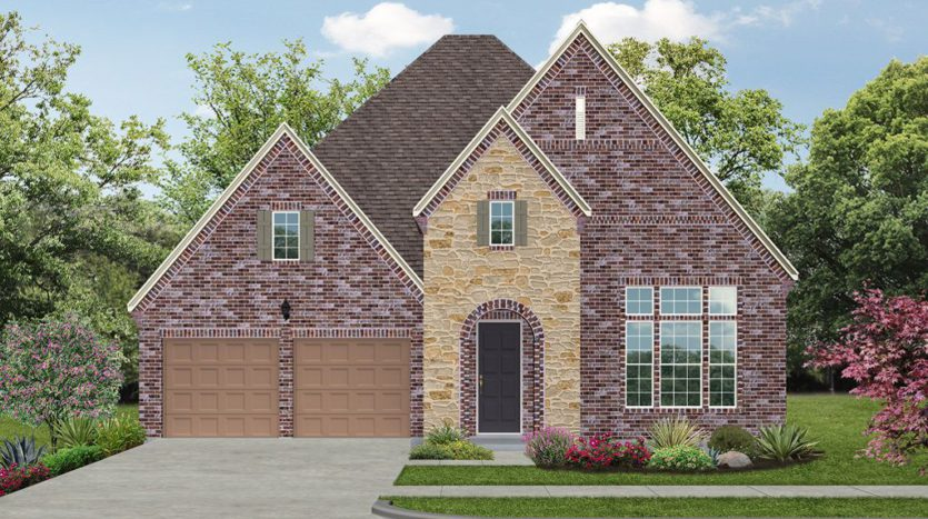 Darling  Homes The Tribute Somerset 55s Patio subdivision 7825 Kentmere Drive The Colony TX 75056