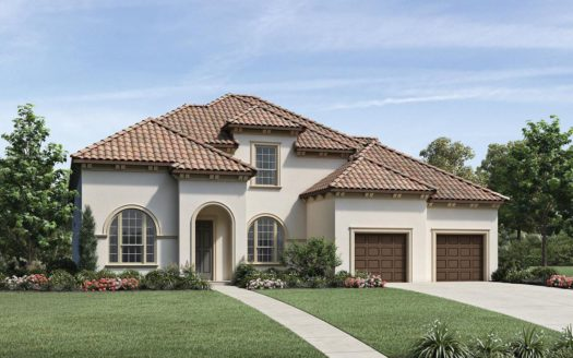 Toll Brothers Lexington Country - The Executives subdivision 13129 Secretariat Boulevard Frisco TX 75035