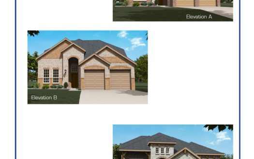 Altura Homes Creek Crossing subdivision 4007 Gray Wolf Dr Melissa TX 75454