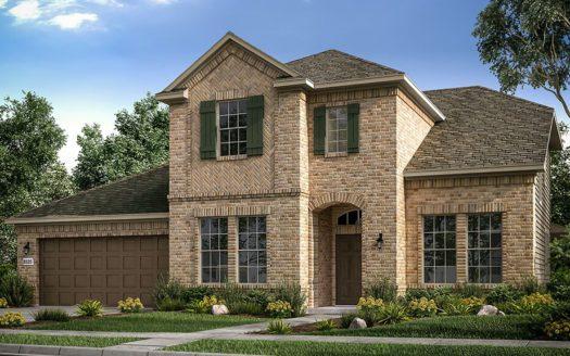 Taylor Morrison Overland Grove subdivision 1112 Garden Grove Lane Forney TX 75126