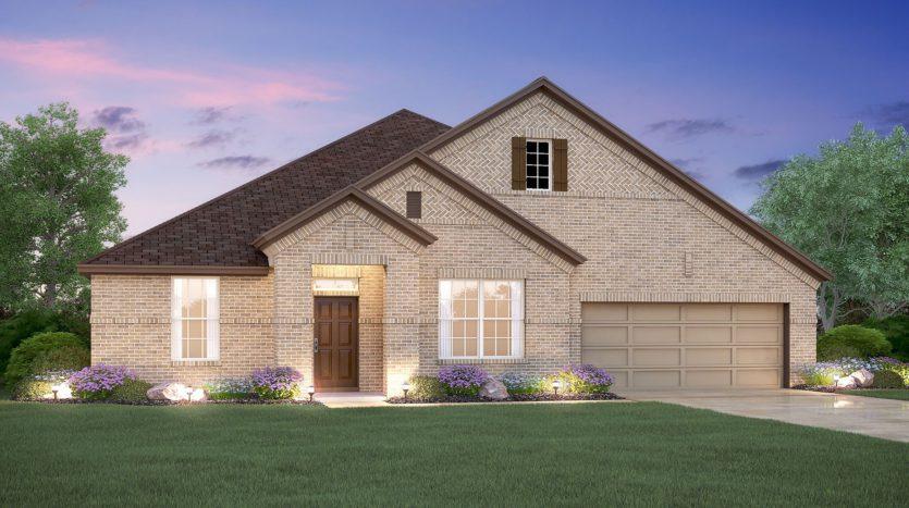 M/I Homes Hollyhock subdivision 2578 Eucalyptus Road Frisco TX 75033