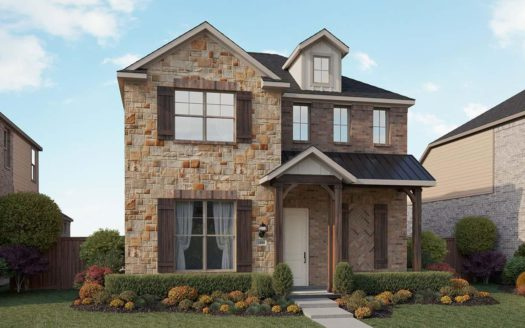 Gehan Homes Waterbrook subdivision 724 Village Green Drive Argyle TX 76226