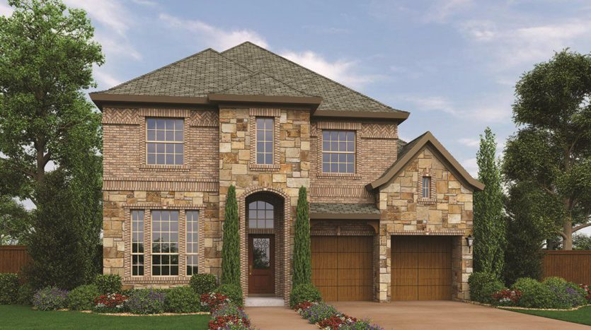 Village Builders Creekside at Colleyville 50' subdivision 4824 Lafite Lane Colleyville TX 76034